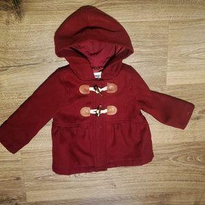 Unisex toddlers duffle coat